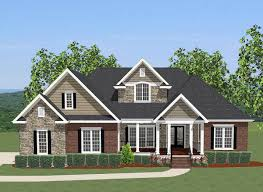 plan 46230la 4 bed house plan with upstairs office bonus rooms