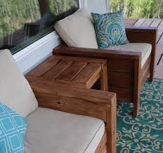 Free Plans For Patio Chairs by Ana White Modern Outdoor Chair From 2x4s And 2x6s Diy Projects