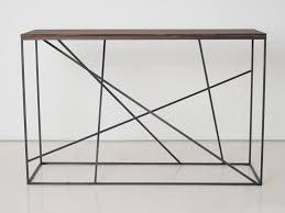 Steel Console Table St Malo Console Table By Interni Edition Design Janine Vandebosch