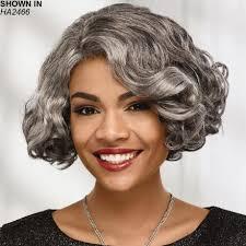 grey kinky twist hair african american gray wigs wig com