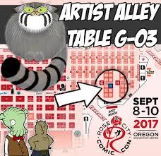 Cinetopia Menu by Rose City Comic Con 2017 U2014 Fuzzy Slug Studios