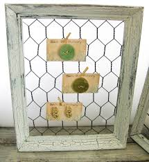 Shabby Chic Pottery by Back Bay Pottery Make A Shabby Chic Chicken Wire Frame