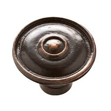 kraftmaid kitchen cabinet hardware shop kraftmaid bronze round cabinet knob at lowes com