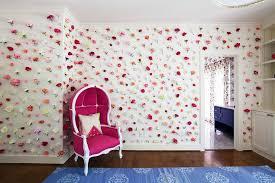 Flower Decoration For Bedroom Kids Room Flower Clad Walls Design Ideas