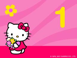 hello kitty happy birthday clipart 52