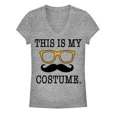 halloween t shirts for women halloween junior u0027s this is my costume t shirt