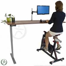 Diy Bike Desk Big Rig Pedal Powered Desk Intended For Brilliant Property