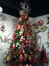 Christmas Tree Ideas 2015 Red Wonderful Decorated Christmas Tree Ideas Pictu 414