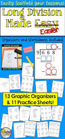 Simple Division Worksheets Best 25 Long Division Activities Ideas On Pinterest Teaching