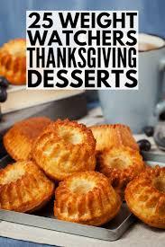 25 weight watchers thanksgiving dessert recipes pumpkin