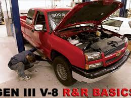 removing gm small block engine iii v 8 sport truck magazine