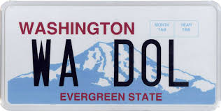 Vanity Plates Washington Personalized License Plate Fees Increase By 10 Licensing Express