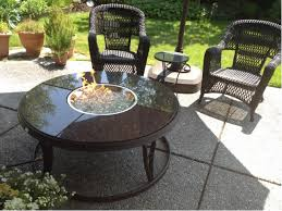 Granite Fire Pit by Outdoor Great Room 42