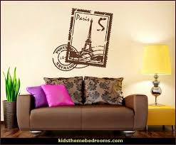 Purple Paris Themed Bedroom by Decorating Theme Bedrooms Maries Manor Travel Theme Decorating
