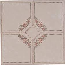 national brand alternative part floor tile no wax self stick