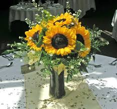mesmerizing sunflower wedding table arrangements 29 on rent tables