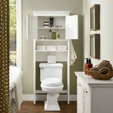 White Space Saver Bathroom Cabinet by White Bathroom Space Saver Free Shipping Today Overstock Com