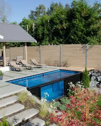 take a dip in modpools u0027 shipping container swimming pool