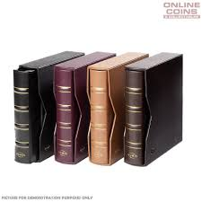 photo albums online lighthouse classic leather numis coin and banknote album with