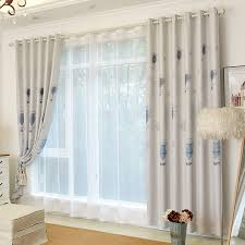 Gray Blackout Curtains Modern Gray Balloon Duplex Printed Blackout Curtains For Room