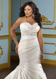 wedding dresses for plus size women plus size wedding dresses mermaid style