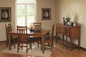 Amish Dining Tables Amish Shaker Style Dining Table