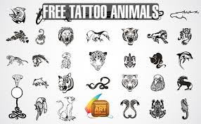 awesome free vectors tattoos animals download social media site