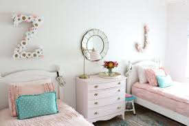 girls frilly bedding girls shared bedroom why we love our blush pink ruffle bedding