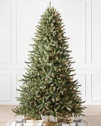 classic blue spruce narrow artificial christmas tree balsam hill