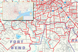 houston map with zip codes southeast wall map with zip codes