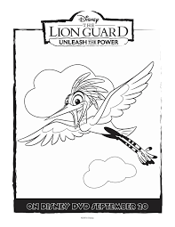 disney ono lion guard coloring page at blanket glum me