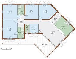 plan de maison 5 chambres plan de maison 5 chambres plain pied