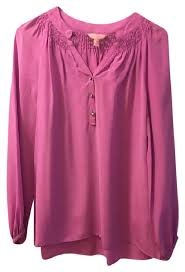 purple silk blouse lilly pulitzer purple elsa silk blouse size 0 xs tradesy