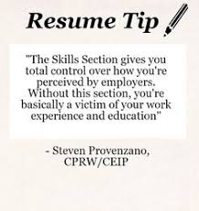 Resume Skill Section Example Of Application Letter For Job Vacancy Example Of
