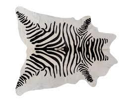 fellimitat teppich kuhhaut zebra teppiche kaufen micasa ch