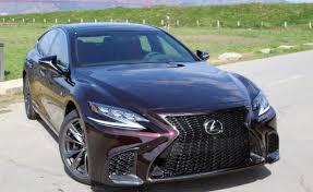 lexus ls 500 f sport specs 2018 lexus ls 500 review autoguide com news
