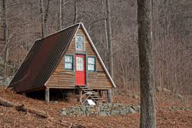 small a frame cabin for the wild hearted souls as for me i d probably build a small