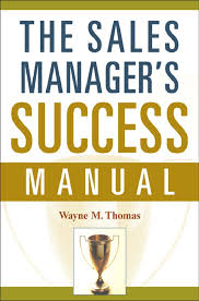 the sales managers success manual