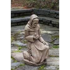 statue with st francis garden statue wayfair