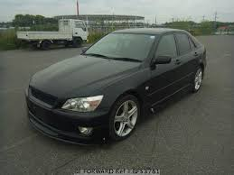 altezza car black used 1999 toyota altezza rs200 z edition gf sxe10 for sale bf53781