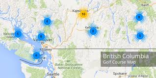 bc map bc golf courses map golf courses in columbia