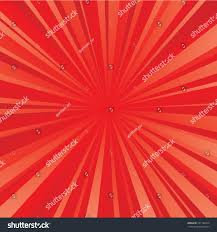 redcolor red color burst background vector illustration stock vector