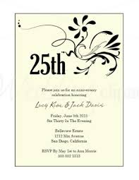wedding anniversary invitation cloveranddot
