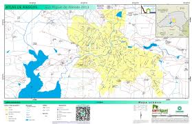 San Miguel De Allende Mexico Map by Municipium Planos