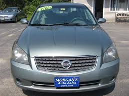2005 nissan altima 2 5 s 4dr sedan in leeds me morgan u0027s auto sales