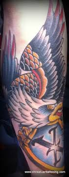 eagle tattoo charlotte nc eagle and shield full chest tattoo by chris stuart www