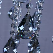chandeliers for living room modern crystal material
