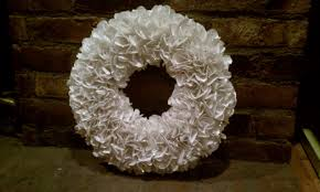 the embellished life diy christmas decorations paper wreath