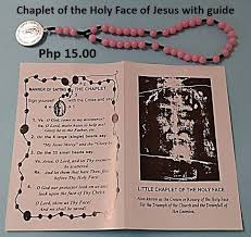 chaplet of the holy of the holy of jesus religious store