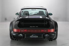 stanced porsche 964 hexagon auctions offers a rare 1993 porsche turbo vehicle for sale